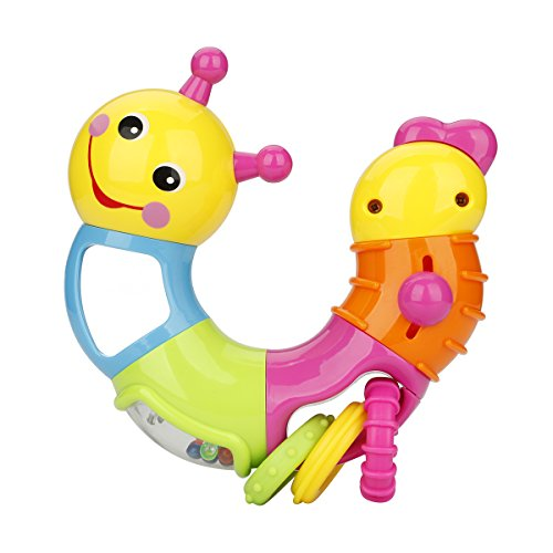 Nuo Peng Click Sound and Mirror Rattle, Twisting Baby Toy