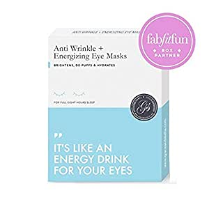 Grace & Stella Anti-Wrinkle + Energizing Gold Collagen Eye Masks | Depuffing Undereye Patches | Vegan & All-Natural (12 Pairs)