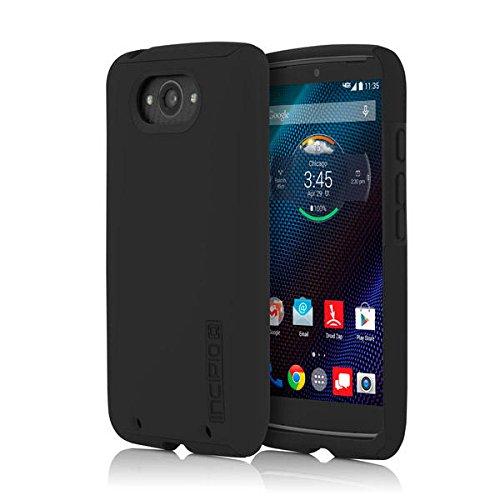 Motorola Droid Turbo Case, Incipio [Shock Absorbing] DualPro Case for Motorola Droid Turbo-Black/Black