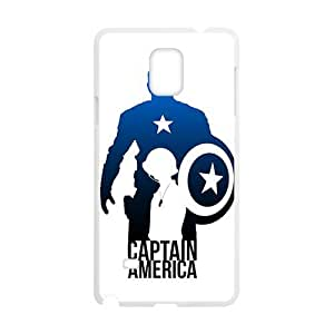 Brave Captain America Cell Phone Case for Samsung Galaxy Note4