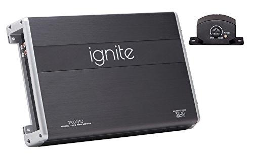 Ignite Audio R1600/1D, Class D Mono Block Car Amplifier - 4000 Watts Peak Power