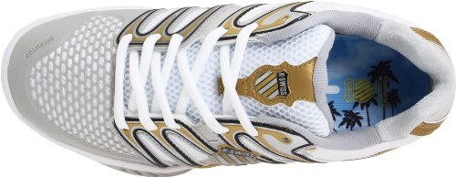 Shoe Women's Gold M Bigshot Black Tennis White 8 Swiss K POw77