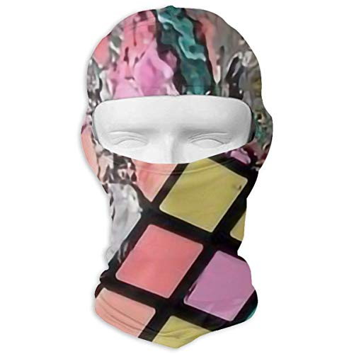 (Windproof Balaclava, Rubiks Cube Cover Face Mask for Hunting Skiing)