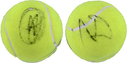 (Rafael Nadal, Novak Djokovic Dual Signed Penn Tennis Ball - Fanatics Authentic Certified - Autographed Tennis)