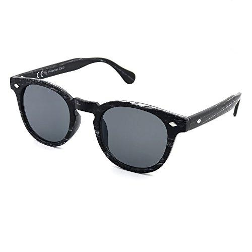 style Depp VINTAGE hommes MODE Black Kiss mod du MOSCOT à Ligne Lunettes de la soleil les Johnny DEPP unisexe la Wood femmes BOIS q17Z68wq
