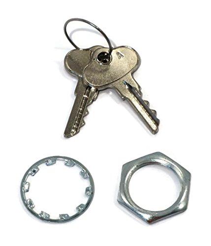 The ROP Shop Ignition Switch w/Keys fit John Deere 130 160 165 170 175 180 185 Lawn Tractors