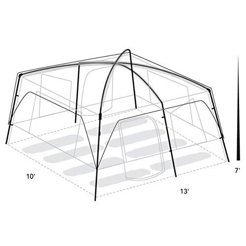 Eureka Copper Canyon 8 Tent - 8 Person, 3 2601308