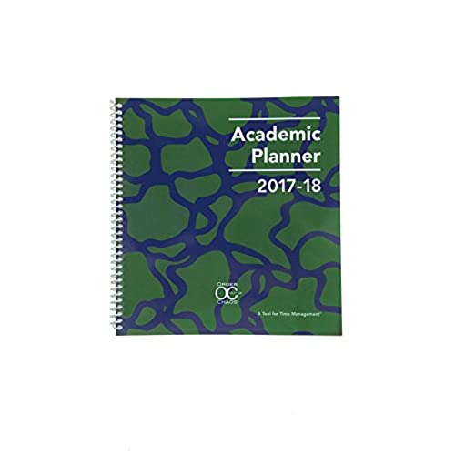 2017 2018 academic planner a tool for time management best