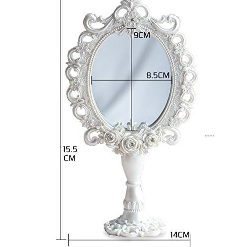 creative European cosmetic mirror/ fashion resin mirror/Beauty salon Desktop mirror/ handle mirrors-A free shipping