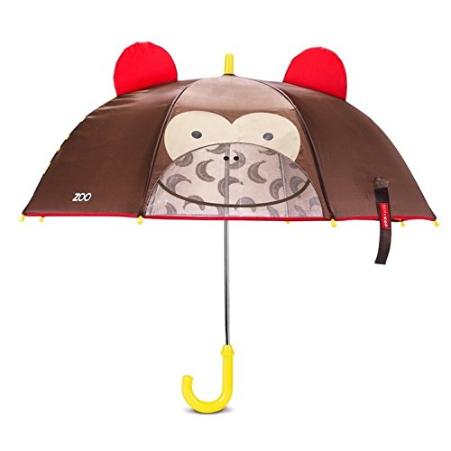 Toddler Boys Monkey (Skip Hop Zoo Little Kid and Toddler Umbrella, Multi Marshall Monkey)