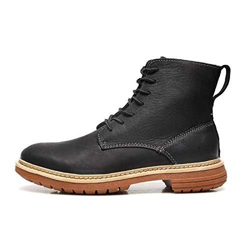 LOVDRAM Stiefel Männer Martin Stiefel Männer Herbst Und Winter Männer Hohe Schuhe Casual Einzelne Stiefel Mode Komfortable Ritter Stiefel Mode Männer