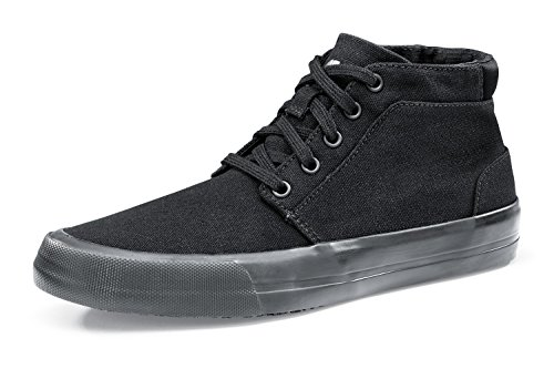Shoes Women's Top En 5 Black Crews Certified Size High 38 Trainers Cabbie Resistant Safety Slip For Style Ii 34702 5 rRqCxgrnp