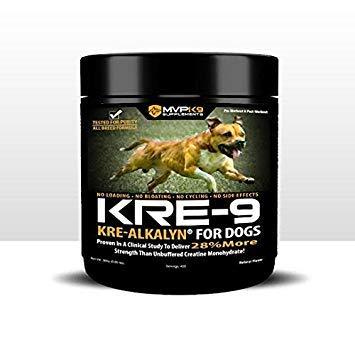 MVP K9 Supplements Kre-9 Kre-alkalyn Creatine for Dogs