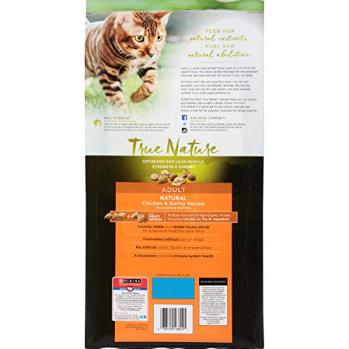 Product image of Purina Pro Plan True Nature Natural Chicken & Barley Recipe Adult Dry Cat Food - 6 Lb. Bag