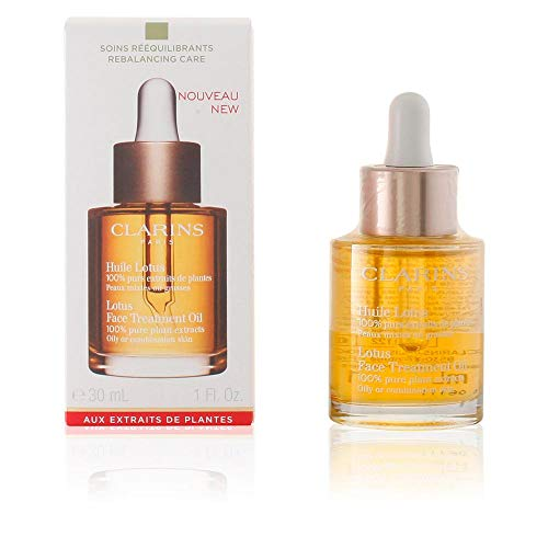 Clarins Lotus Face Treatment Oil, 1 Ounce