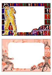 Elvis Presley Glass Picture Frame Set of 2