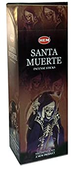 Hem Incense Santa Muerte- 120sticks in a Pack.