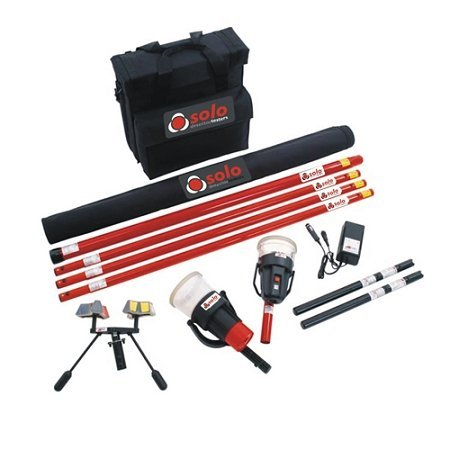 (SDI Solo 823 Kit Smoke Detector Test Kit w/Bag, Heat Tester, Battery Charger by SDI)