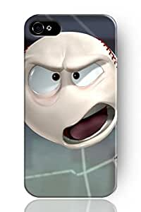 New Fashion Design Snap-on Case for Apple Iphone 5 5S--Baseball Clown in DDJK Case