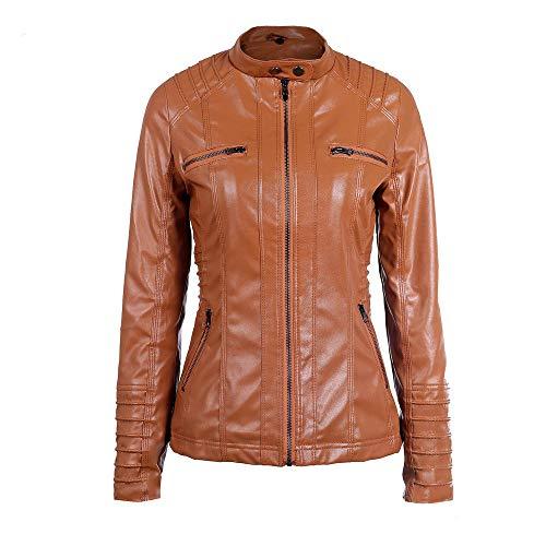 Outerwear Zipper Overcoat Casual Hooded Jersh Removable Women Brown Classic Jacket Autumn Warm Coat Lapel Winter Tunic Women Slim x7gaq