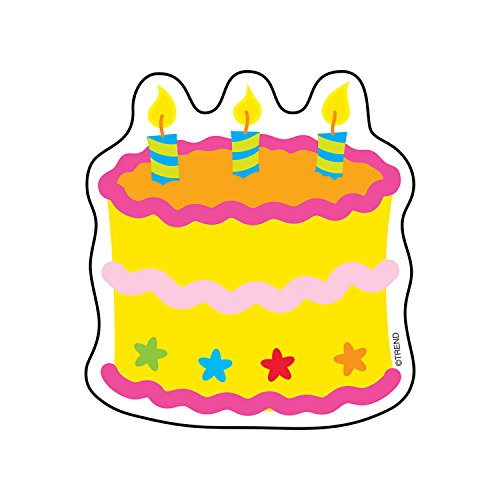 TREND enterprises, Inc. Birthday Cake Mini Accents, 36 ct