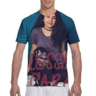 Men T-Shirt Alessia Cara Graphic 3D Printing Cool Cotton Tees Tops