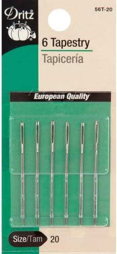 Bulk Saving 2 pack of Dritz Embroidery Hand Needles