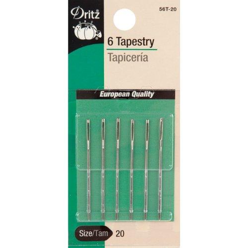 Dritz 5-Piece Tapestry Hand Needles, Size 16 Prym Consumer USA 56T-16
