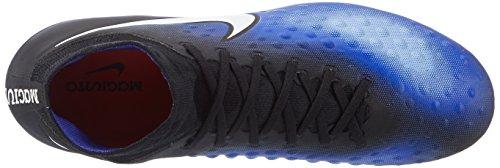 Nike 843812-018, Scarpe da Calcio Uomo Nero (Black/White/Paramount Blue/Aluminium)