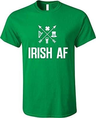 GunShowTees Men's Irish AF St. Patrick's Day Shirt