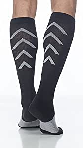 SIGVARIS Unisex Athletic Recovery Socks 15-20 mmHg