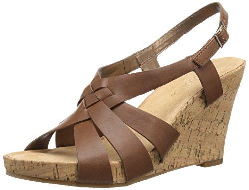 - Aerosoles Women's Guava Plush Wedge Sandal, Tan Combo, 9 M US
