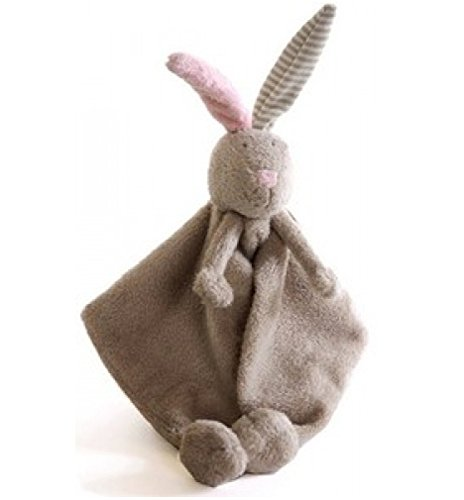 Soft Stuffed Bunny, LILOU Doudou Blanket by