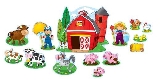Bb Set Farm (Carson Dellosa Farm Bulletin Board Set (110175))