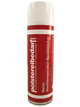 Adhesivo en spray Heiro, con alta resistencia a temperaturas, 500 ml: Amazon.es: Hogar