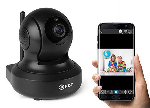 Fdt 720p Hd Wifi Pan Tilt Ip Camera 1 0 Megapixel Indoor