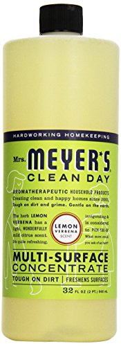 Mrs. Meyer's Clean Day All Purpose Cleaner, Lemon Verbena, 32 Ounce -