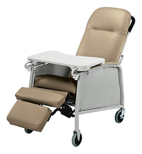 Three Position Recliner - Three Position Recliner Color: Warm Taupe