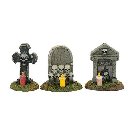 Department 56 Accessories for Villages Halloween Spooky Graveyard Vigil Figurine