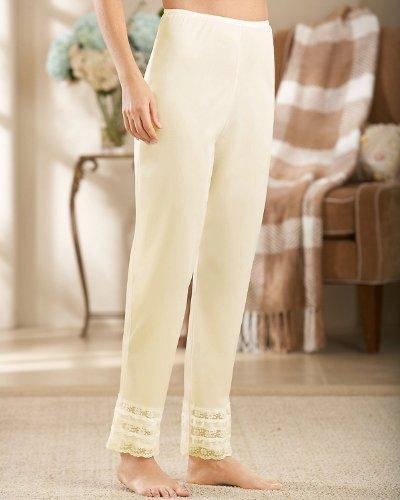 Velrose Snip-it Long Pant Liner, (3502) Beige, Large