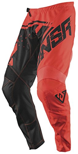 Answer Racing A18 Syncron Youth Boys Off-Road Motorcycle Pants - Red/Black / Size (Red Youth Syncron Pants)