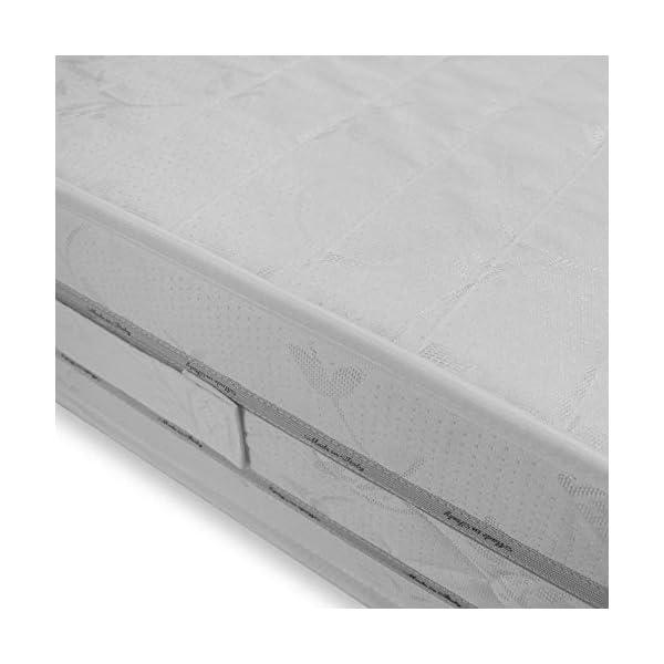 Baldiflex Easy 2.0 Memory Foam Materasso Memoria, Poliuretano, Bianco, 120 x 190 x 22 cm 7 spesavip