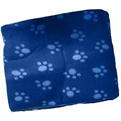 Soft Fleece Pet Blanket/Furniture Throw (Blue) by PawPawz