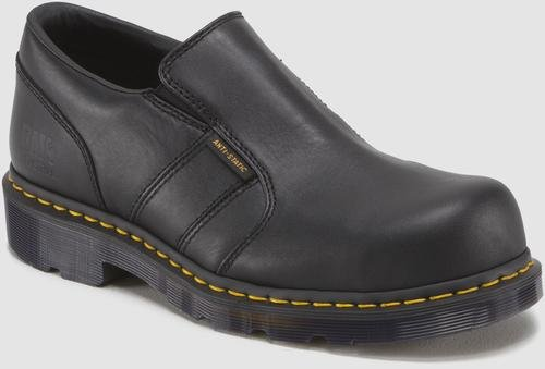 Dr Martens Slip On (Dr. Martens Men's Resistor ST ESD Steel Toe Shoe,Black,10 UK/11 M US)