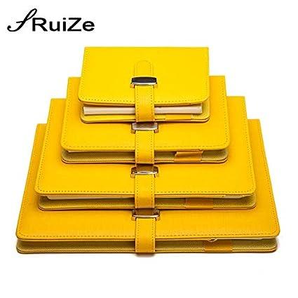 HUDITOOL - Cuadernos de piel en espiral para papelería ...