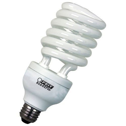 Feit Electric ESL40T/ECO ECOBulb Plus 40W / 200W 120V A19 Soft White Twist CFL E26 Medium Base