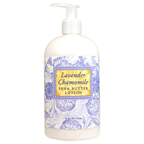 Greenwich Bay Trading Co. Shea Butter Lotion, 16 Ounce, Lavender Chamomile by Greenwich Bay Trading Company