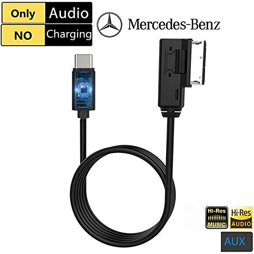 Para Mercedes Benz Clase Samsung Galaxy HTC Sony C Micro USB y AUX 3.5 mm cable s