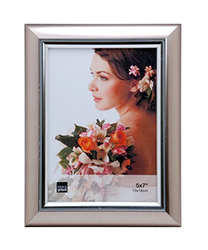 silver 5x7 picture frame - 5