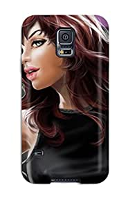 Minnie R. Brungardt's Shop Lovers Gifts Sanp On Case Cover Protector For Galaxy S5 (sexy Mary Jane Watson) 2920592K99227731